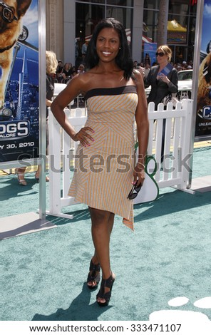 Omarosa at the Los Angeles Premiere of \