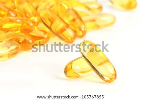 Omega3 capsules.
