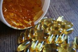 Omega 3 Fishoil Nutrition Capsules