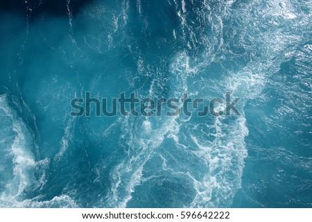 On a ferry in the Atlantic Ocean #596642222