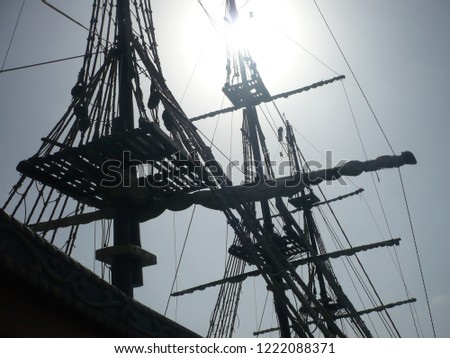 On a pirate ship/Pirates' ship/pirates on the ship #1222088371