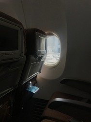 On board, Garuda Indonesia, 2020