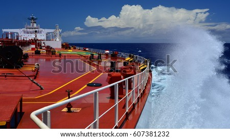 On board tanker