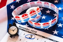 On November 3, 2020, American citizens have a duty to vote in presidential elections.