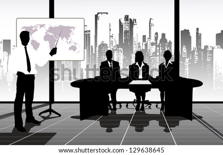 on the image the presentation is presented business
