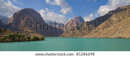 On the shores of Iskander Kul lake in Tajikistan - in the footsteps of Alexander the Great in Central Asia