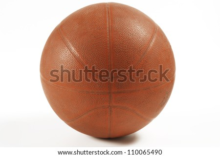 One basketball