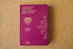 One biometric Cypriot passport.