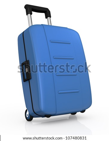 http://image.shutterstock.com/display_pic_with_logo/581935/107480831/stock-photo-one-blue-suitcase-with-wheels-d-render-107480831.jpg