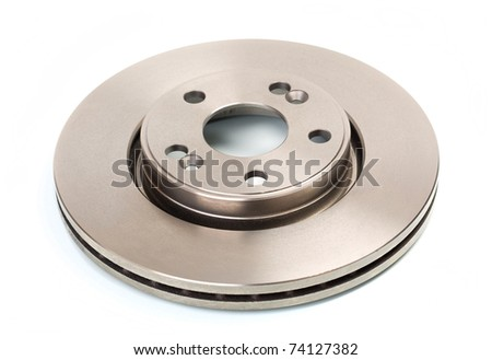 One brake disk for the car