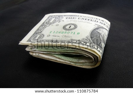 one dollar bill fold