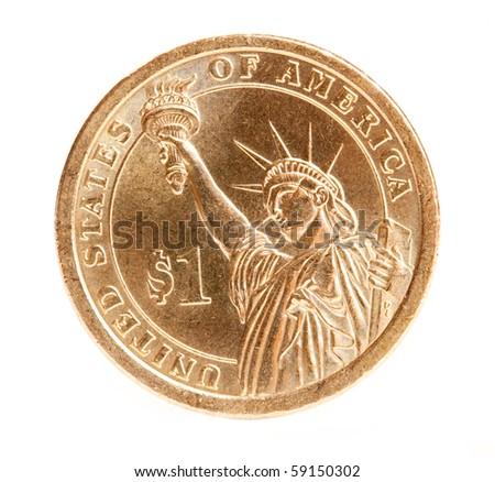 one dollar coin