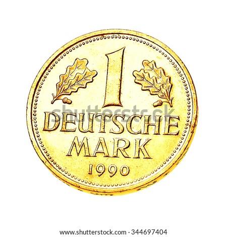 Free Photos Coins Of Germany German One Deutsche Mark Coin