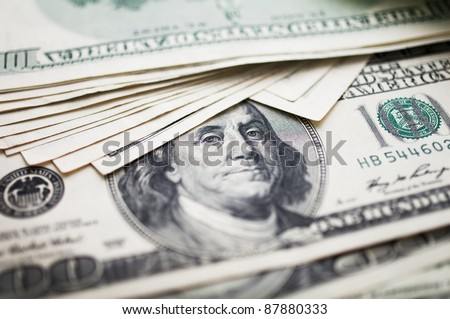 one hundred dollar bills