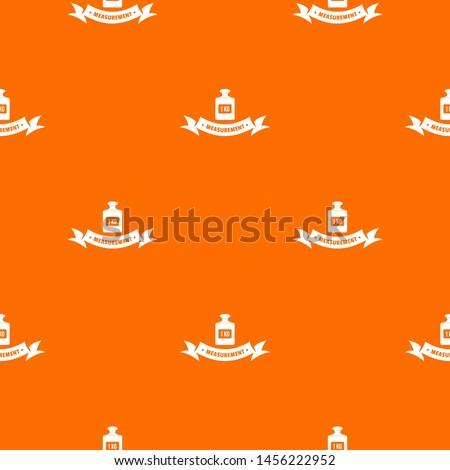 One kg pattern orange for any web design best
