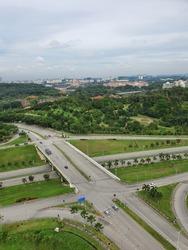 one of junction in presint 16 Putrajaya