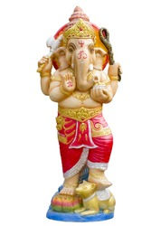 One of most supreme god in Indian culture, Ganesh, god of success