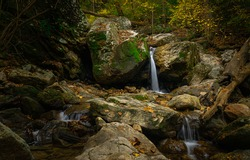 One of the beautiful waterfalls in the Avalon area of  Patapsco State Park