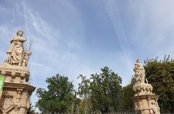 One of the entrances to Parc de la Ciutadella, Barcelona, Catalonia, Spain