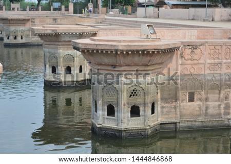 one of the Famous Baoli at Mathura Vrindawan #1444846868
