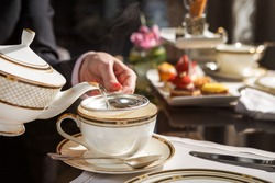 one of the finest afternoon tea in town