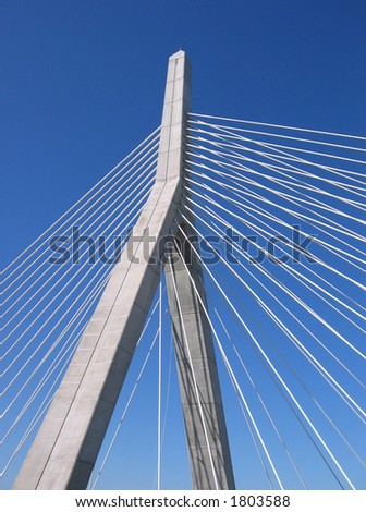 One of the latest landmarks in Boston, the Zakim Bridge is part of the city's overhaul.