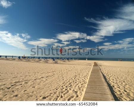 One of the most beautiful beaches in the world - Praia da Rocha in Portimao, Algarve, Portugal
