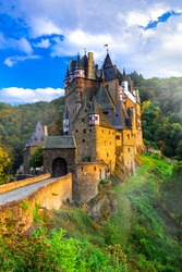 One of the most beautiful medieval castles of Germany - imppressive Burg Eltz