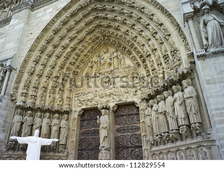 One of the most well known Cathedrals in Europe; its cornerstone was laid in 1163