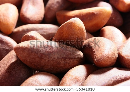 One of versions of nuts - Brazil nut, is used in cookery.