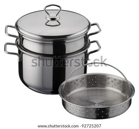 one pasta pot set in three pieces