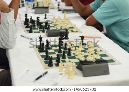 One Round Chess tournament table #1458623702