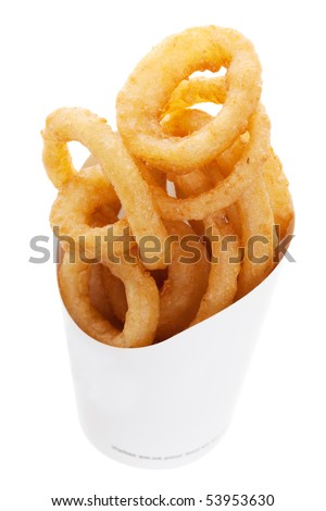 Onion Rings From a Fast Food Restaurant