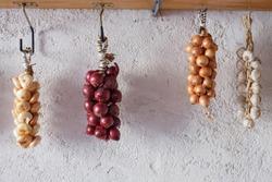 Onions from Cannara, region Umbria, Italy