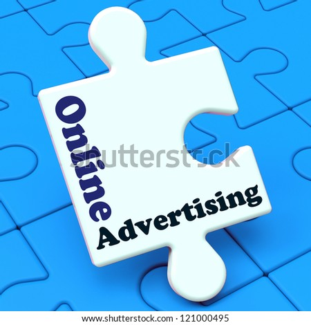 Online Advertising Showing Traffic Building Website Promotions And Adverts