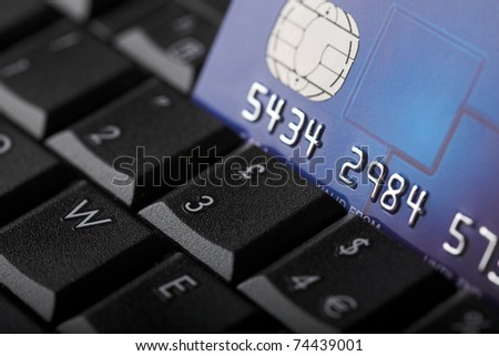 Online credit transaction - shallow dof