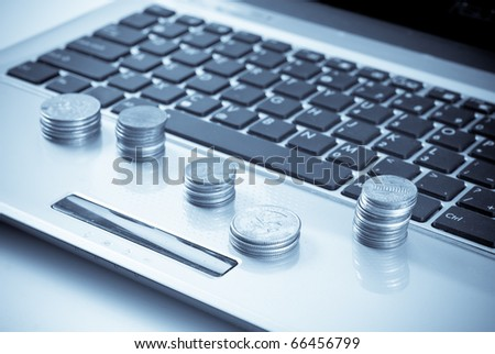 Online Financial Services Conceptual Image