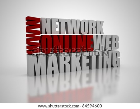 Online marketing related words