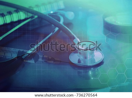 online medical and healthcare concept