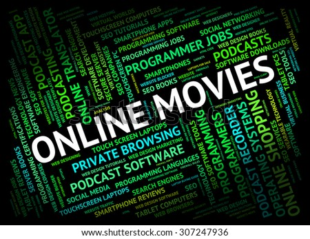 Online Movies Meaning World Wide Web And Website