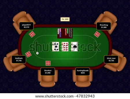 Max players on poker table