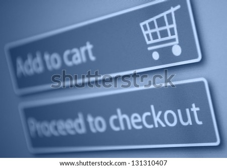 Online Shopping - Add To Cart Button