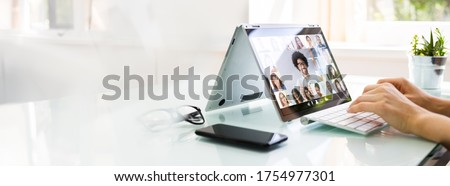 Online Video Conference Interview Call And Call Meeting