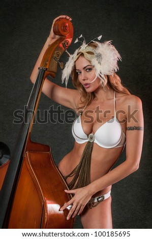 Only women playing jazz