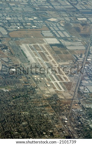 Ontario Airport in Los Angeles Area