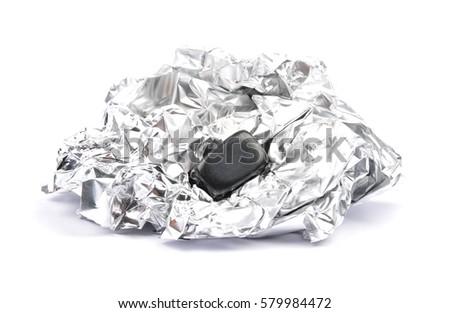 Onyx on aluminum #579984472