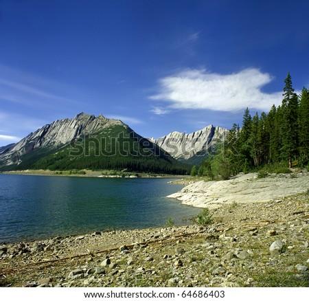 Opal Hills Jasper National park, Canada, UNESCO