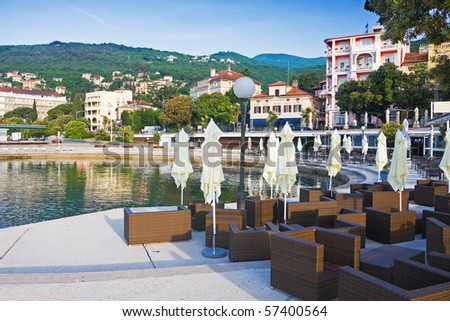 Opatija on a morning