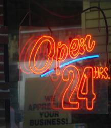 Open 24 7