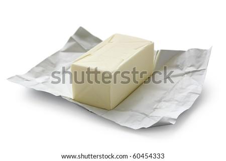 Open Block of Butter